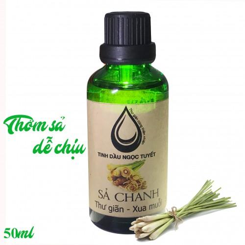 Tinh dầu sả chanh thư giản và khử mùi Ngọc Tuyết 50ml